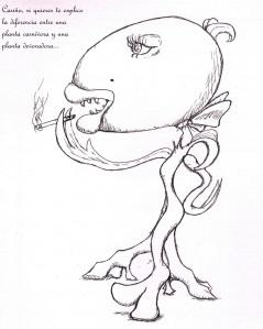 planta devoradora
